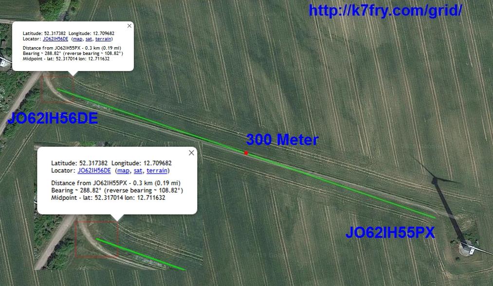Webseitenprogramm zur Entfernungsmessung