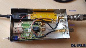 SDR DvB-T Stick und Konverter durch DL1RLB eingebaut