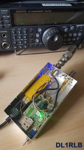 SDR Empfänger HF Box geöffnet